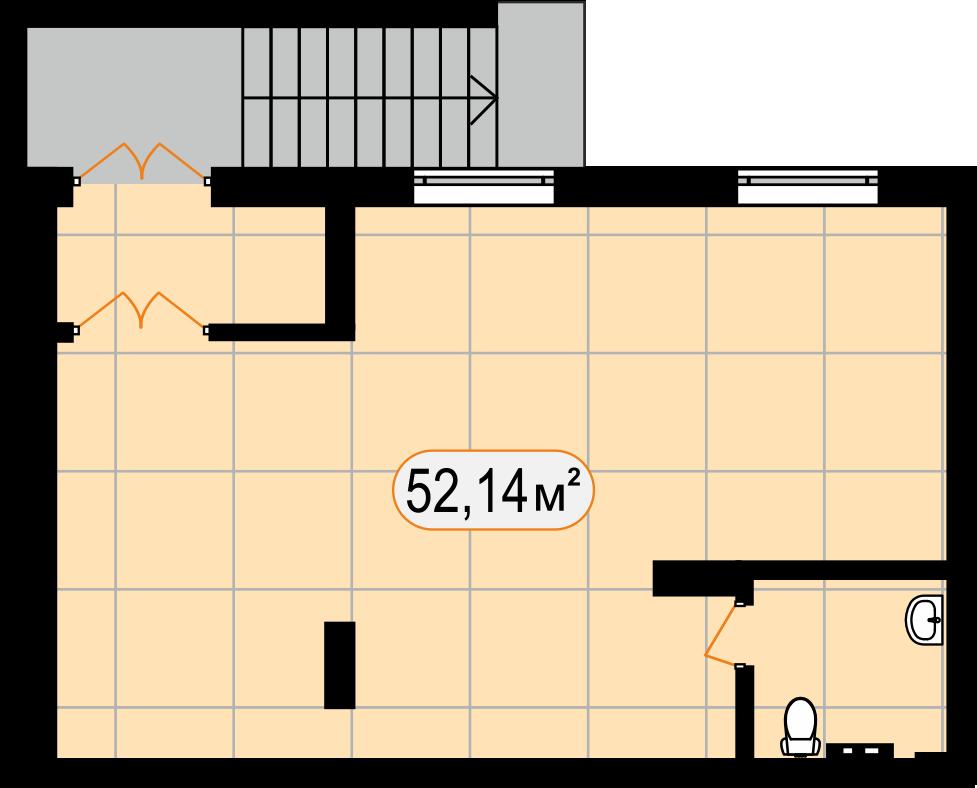 Комерційна нерухомість 52,14 м2