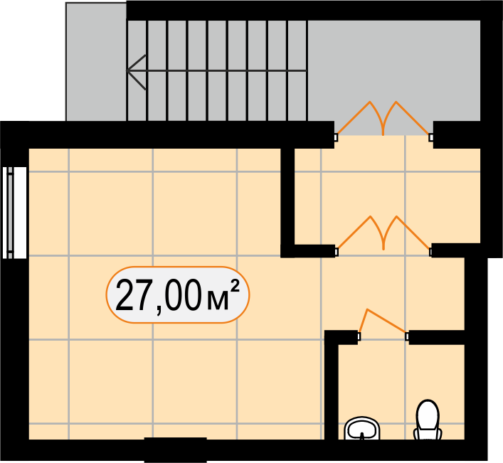 Комерційна нерухомість 27,00 м2